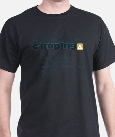 Top 5 things I hate about Camping T-Shirt