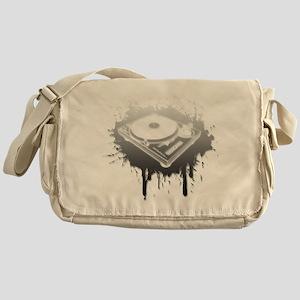 Graffiti Turntable Messenger Bag