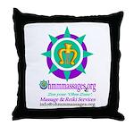 Ohmmmassages Throw Pillow