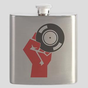 Vinyl Propaganda Flask