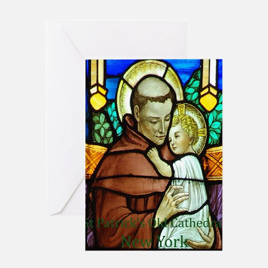 St Anthony Greeting Card