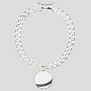 DJ Platter Charm Bracelet, One Charm