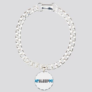 Eat Sleep Mix Charm Bracelet, One Charm