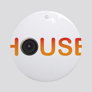 House Music Ornament (Round)