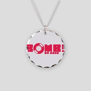 Bomb Da Bomb Necklace Circle Charm