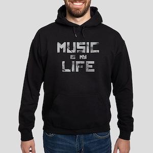 Music Is My Life Hoodie (dark)
