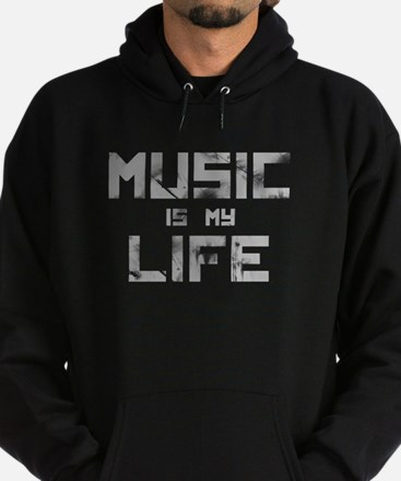 Music Is My Life Hoodie (dark)