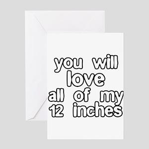 12 Inches Of Fun Greeting Card