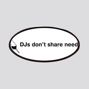 DJs Don't Share Needles Patches