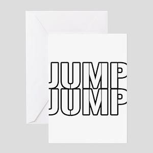 JUMPJUMP Greeting Card