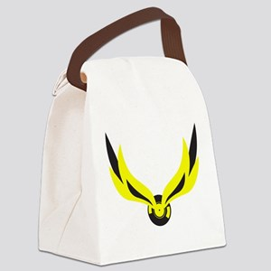 wingedrecord Canvas Lunch Bag