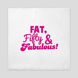 FAT Fifty and Fabulous! Queen Duvet