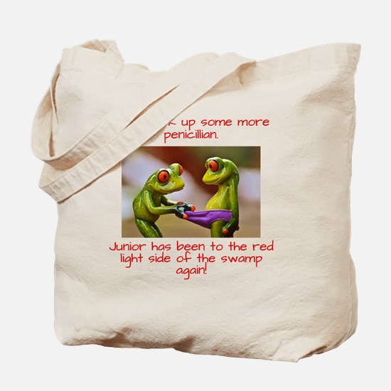 Cute Red light district Tote Bag