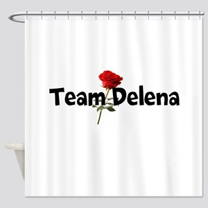 Team Delena Shower Curtain