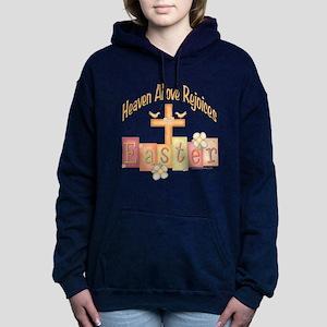 heastercrossrejoices copy Hooded Sweatshirt