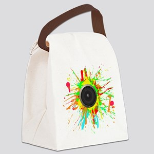 See The Music! Canvas Lunch Bag