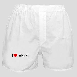 I Heart Mixing Boxer Shorts