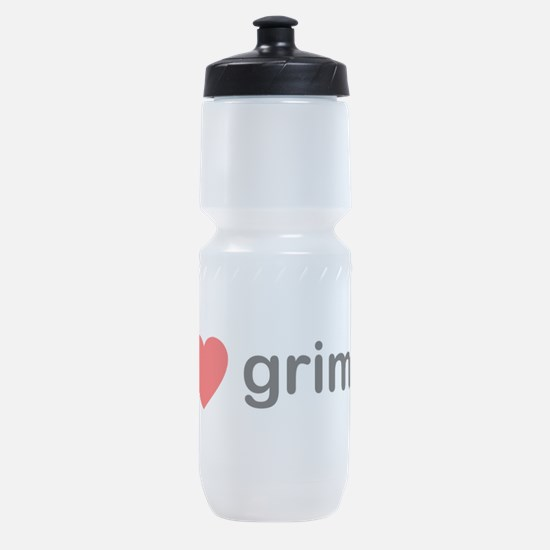 I Heart Grime Sports Bottle