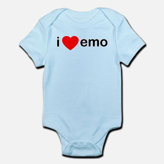 I Heart Emo Infant Bodysuit