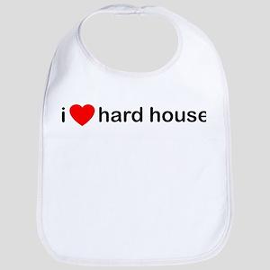 I Love Hard House Bib