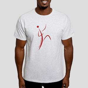 Martial Artist (Red) - Light T-Shirt