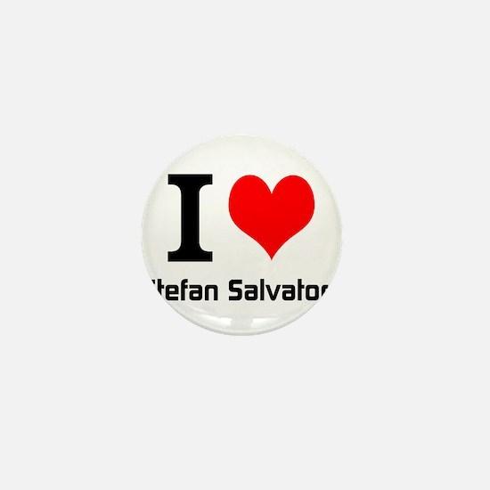 I love Stefan Salvatore Mini Button
