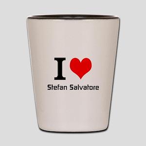 I love Stefan Salvatore Shot Glass