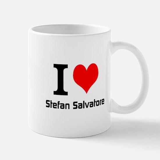 I love Stefan Salvatore Mugs