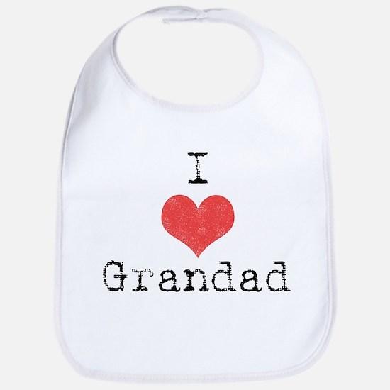 I {heart} Grandad Bib