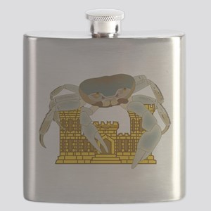 Crabs over Castles Flask