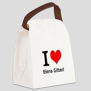 I love Elena Gilbert Canvas Lunch Bag