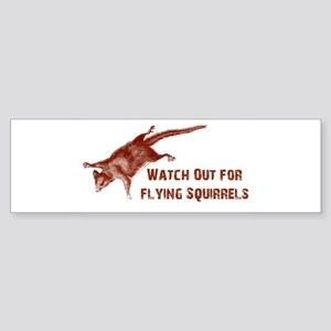 flying squrl Bumper Sticker