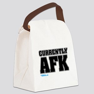 Currently AFK Canvas Lunch Bag