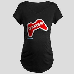 Gamer Pad Maternity Dark T-Shirt
