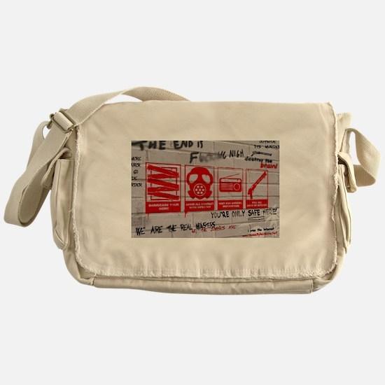 In Case Of Zombie Apocalypse Messenger Bag