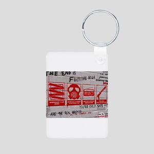 In Case Of Zombie Apocalypse Aluminum Photo Keycha