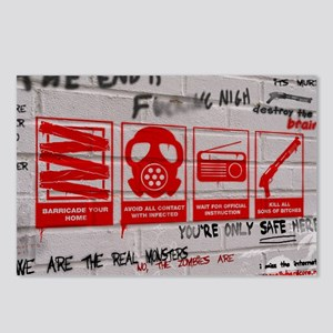 In Case Of Zombie Apocalypse Postcards (Package of