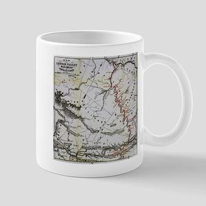 Railroad Map Mugs