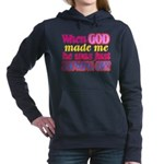 God Showing Off Hooded Sweatshirt