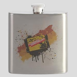 Graffiti Cartridge Flask