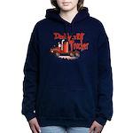 Daddys Lil' Trucker Women's Hooded Sweatshirt