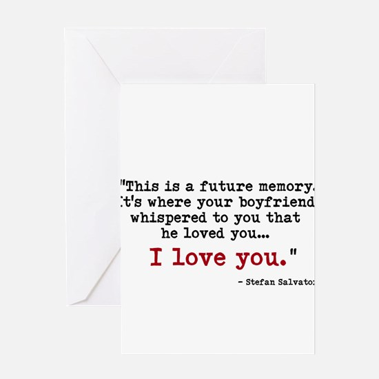 This is a future memory. Greeting Cards