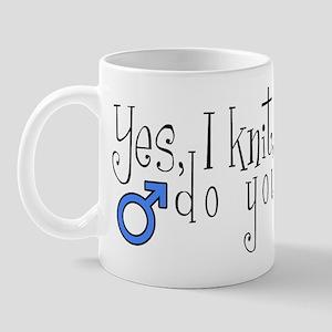 Men Knit Too! Mug