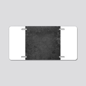 Worn Graph 7 Aluminum License Plate