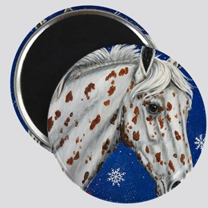 Leopard Appaloosa Christmas Magnet