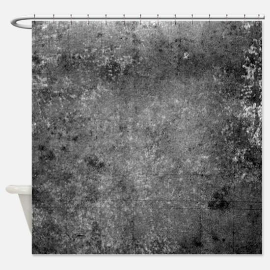 Worn Graph 6 Shower Curtain