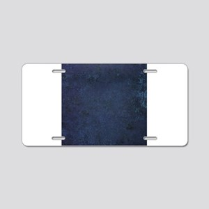 Worn Graph 5 Aluminum License Plate