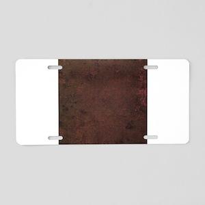 Worn Graph 2 Aluminum License Plate