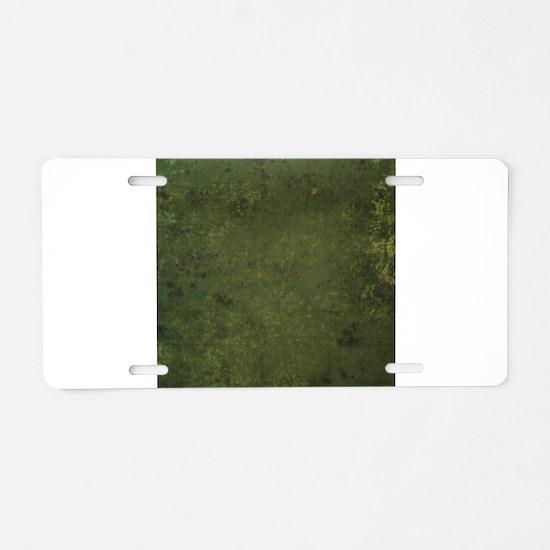 Worn Graph 1 Aluminum License Plate
