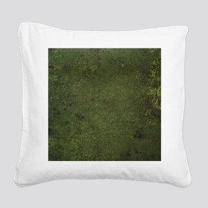 Worn Graph 1 Square Canvas Pillow